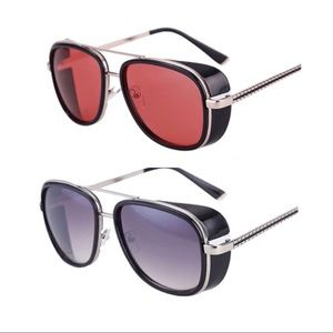 TWO pairs of Tony Stark sunglasses